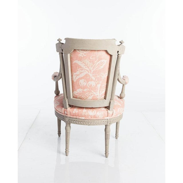 French Early 20th Century Vintage Directoire Chair For Sale - Image 3 of 4