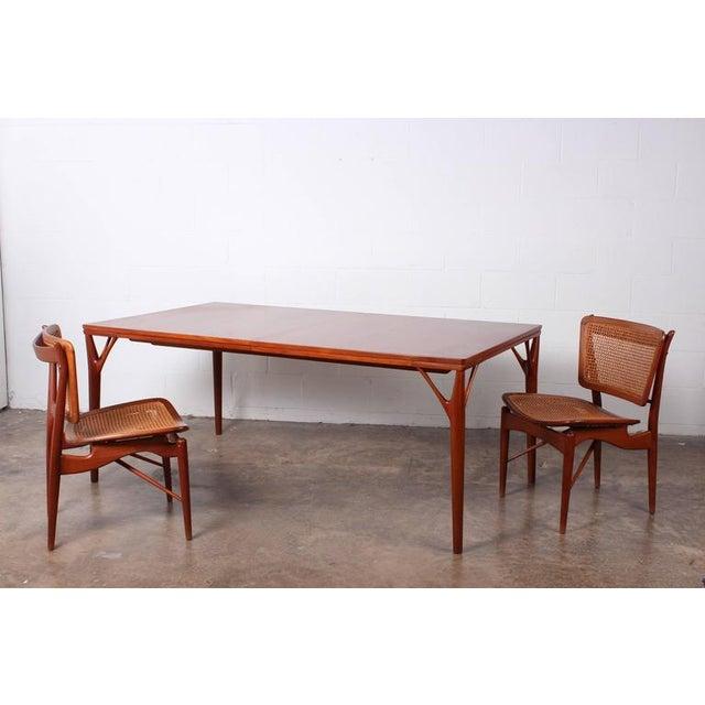 Sculptural Teak Dining Table - Image 10 of 10