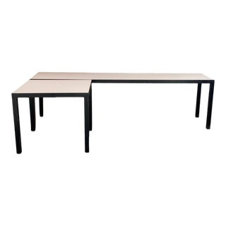 Minimalist Bench & Table by Jg Furniture For Sale