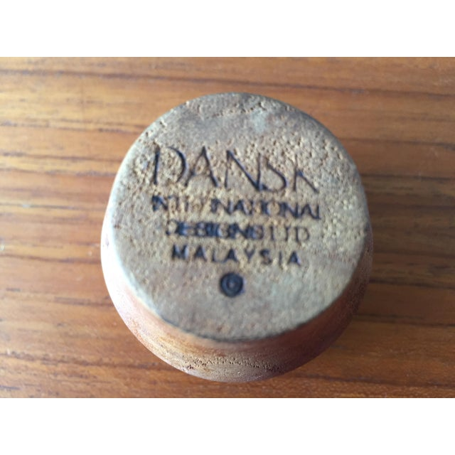 Vintage Dansk Decanter With Teak Stopper - Image 4 of 6