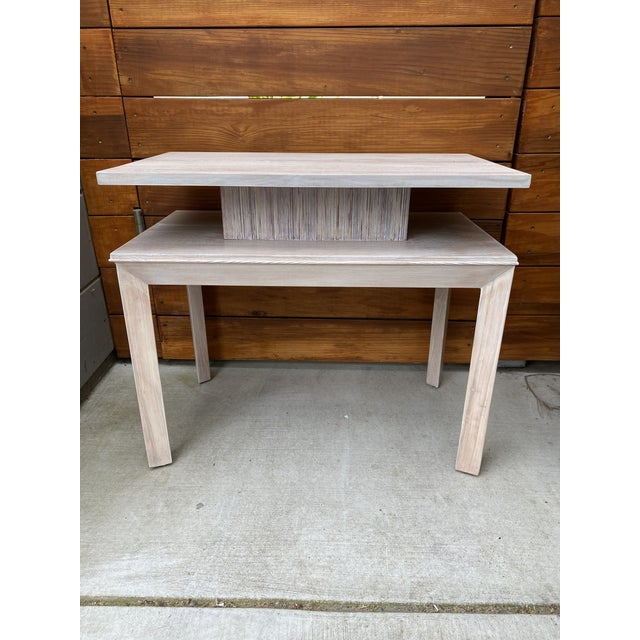 Whitewashed Side Table by Paul Frankl For Sale - Image 10 of 13