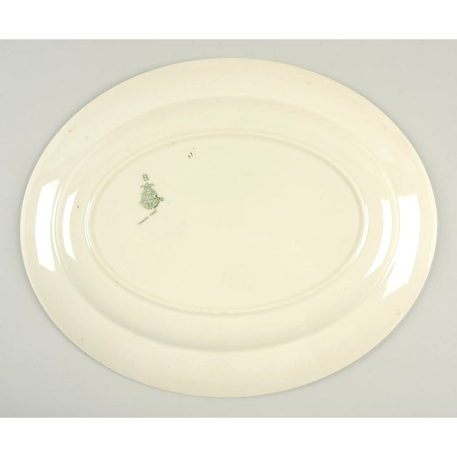 """Crown Ducal Crown Ducal Indian Tree 14"""" Oval Serving Platter For Sale - Image 4 of 6"""