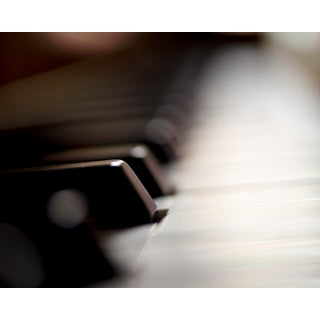 """""""Piano Keyboard"""" Contemporary Photograph by John Manno For Sale"""