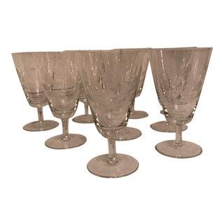 Vintage Rosenthal Crystal Glasses - Set of 9 For Sale