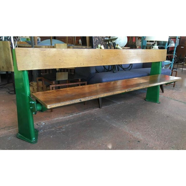 Metal Bench by Jean Prouve, circa 1957 For Sale - Image 7 of 8
