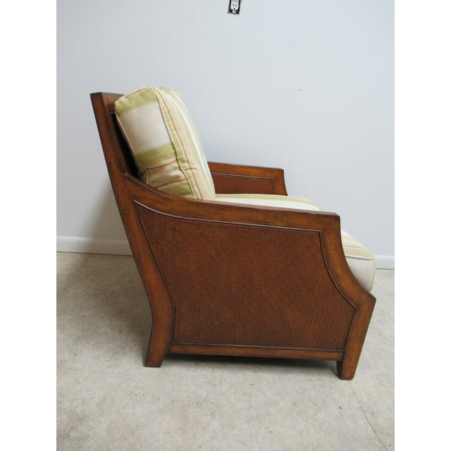 Thomasville Tommy Bahama Style Wicker Lounge Chair For Sale In Philadelphia - Image 6 of 13