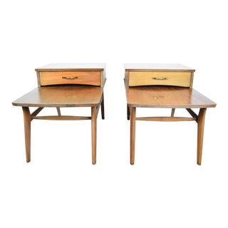 Mid Century Modern Mersman Danish Side Tables - a Pair For Sale