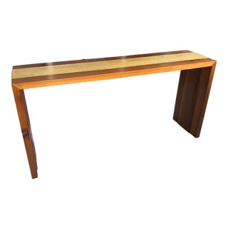 Custom Console Table by Artist Paul Hughes For Sale