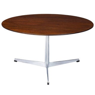 Arne Jacobsen Rosewood Coffee Table For Sale