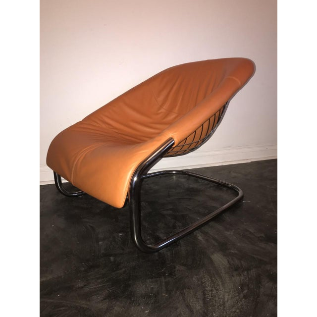Orange Minotti Chairs - a Pair For Sale In Los Angeles - Image 6 of 8