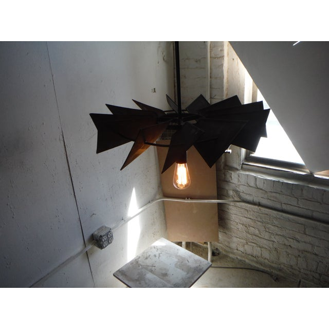 Vintage Rustic Windmill Pendant Light For Sale In New York - Image 6 of 6