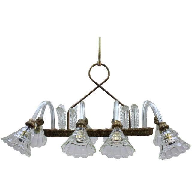 1950s Rectangular Barovier Light For Sale - Image 5 of 5