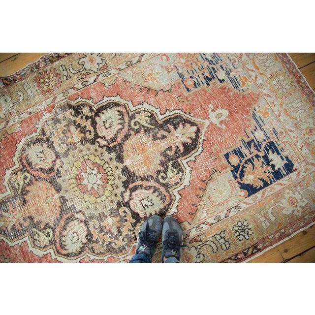"Vintage Oushak Distressed Carpet - 4'10"" X 8'2"" - Image 10 of 10"