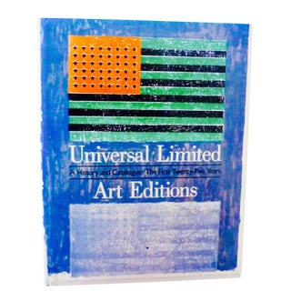 Vintage Universal Limited Art Editions, Fine Art Prints Book For Sale