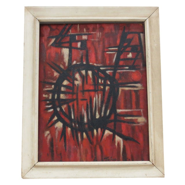 Mid-Century Painting by Ruffeno Tries c.1953 - Image 1 of 4