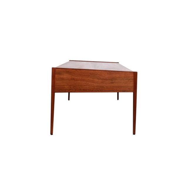 Jens Risom Rare Architect's Desk by Jens Risom For Sale - Image 4 of 13