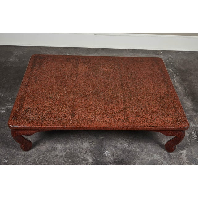 Early 20th C. Japanese Lacquered Low Table For Sale - Image 4 of 10