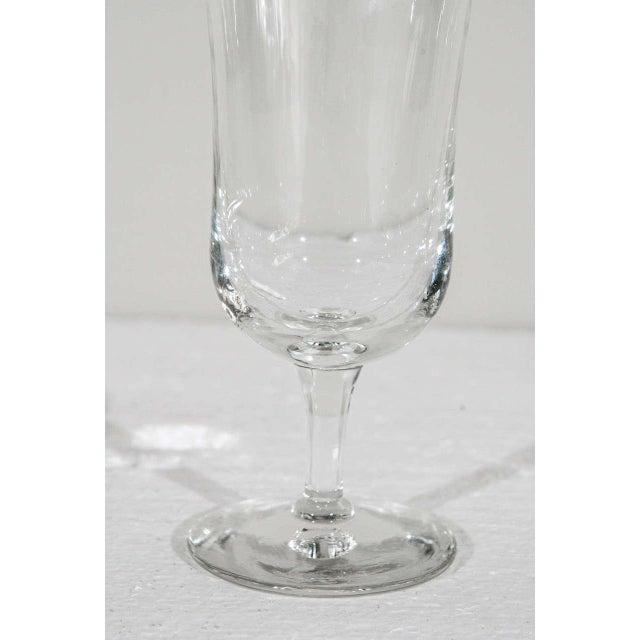Holmegaard 1940s Danish Modern Holmegaard Crystal Cordial Glasses - Set of 6 For Sale - Image 4 of 9