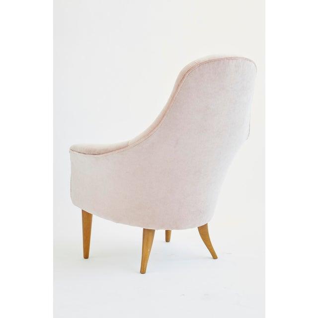 Nordiska Kompaniet 1950s Vintage Kerstin Hörlin-Holmquist Adam Lounge Chair For Sale - Image 4 of 7