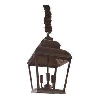 Copper Indoor/Outdoor Lantern