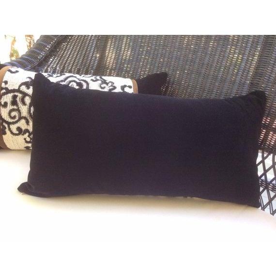 Ralph Lauren Pillow Covers in Jozan Pearl Velvet - a Pair - Image 4 of 4