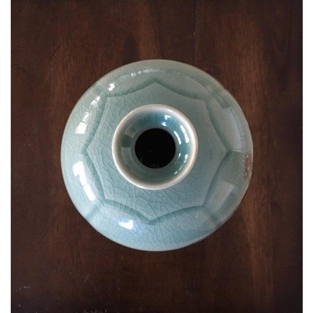 Korean Celadon 'Four Seasons' Mae Byeong Vase Signed by Ko Chung - Image 10 of 11