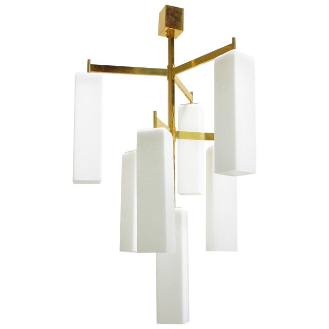 Tiered Palazzo Chandelier by Fabio Ltd (2 Available) For Sale