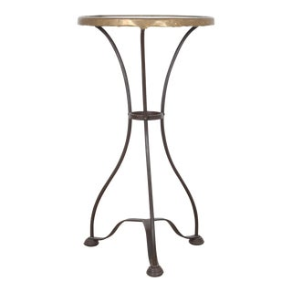 Early 19th Century Small Wrought Iron Bistro Table For Sale
