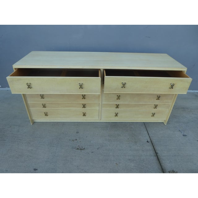 1950s Mid-Century Modern Johnson Furniture Paul Frankl Long Chest/Credenza For Sale - Image 10 of 13