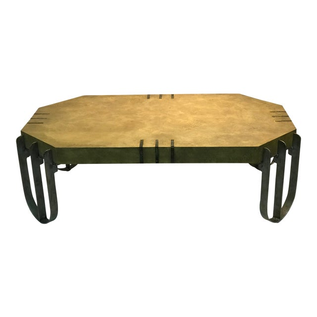 Deco Revival Coffee Table or Center Table For Sale
