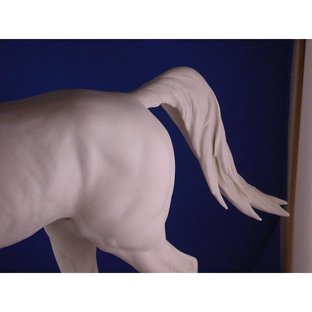 1960s Vintage Arabian Horse Sculpture For Sale - Image 11 of 13