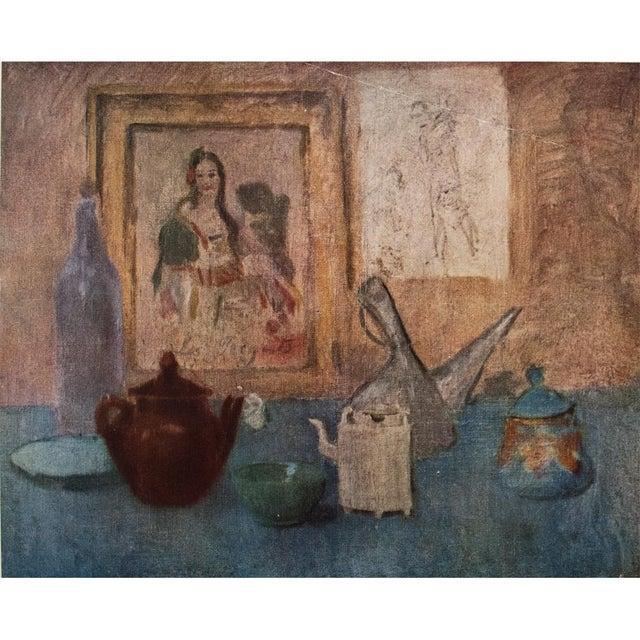 Lithograph Original 1948 Picasso Nature Morte Au Tableau Lithograph For Sale - Image 7 of 9