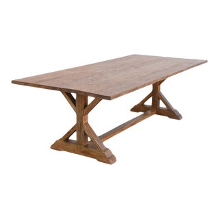 Petersen Antiques Reclaimed Pine Farm Table For Sale