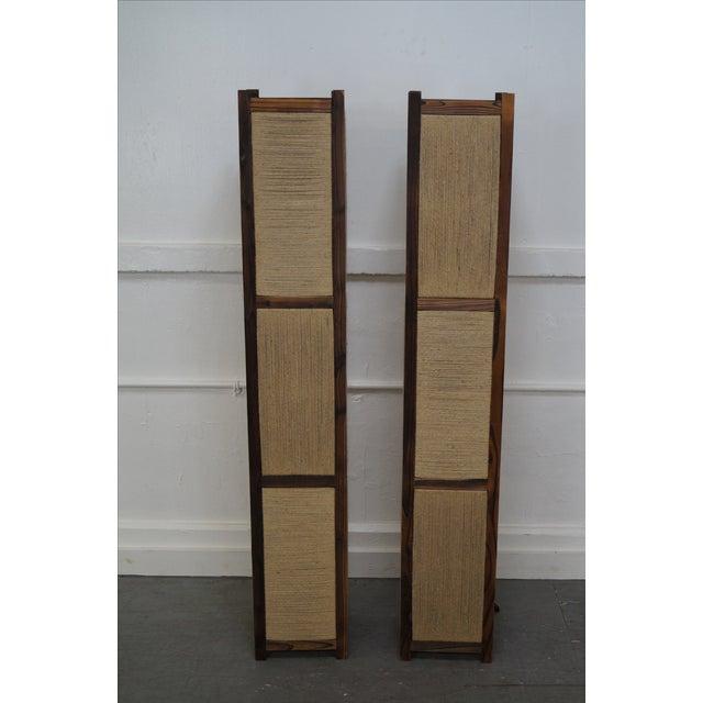 Asian Arts & Crafts Kojima Style Floor Lamp - Pair - Image 2 of 10