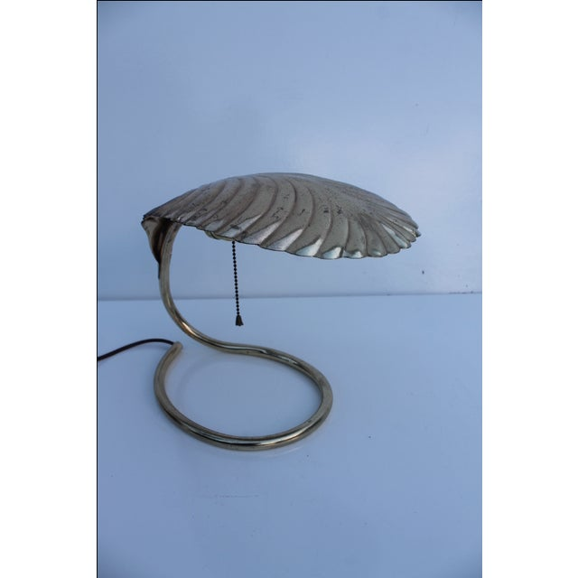 Curved Leaf Reading Lamp - Image 2 of 8