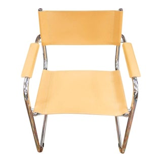 Late 20th Century Vintage Marcel Breuer Style Cantilever Chair For Sale