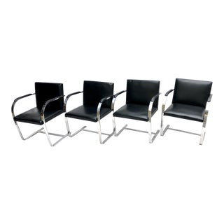 Mies Van Der Rohe for Knoll Brno Chairs - Set of 4
