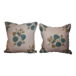 Tulu Fabric Pillows - A Pair
