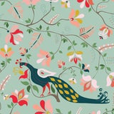 Image of House of Harris Windwood Fabric, Multi For Sale