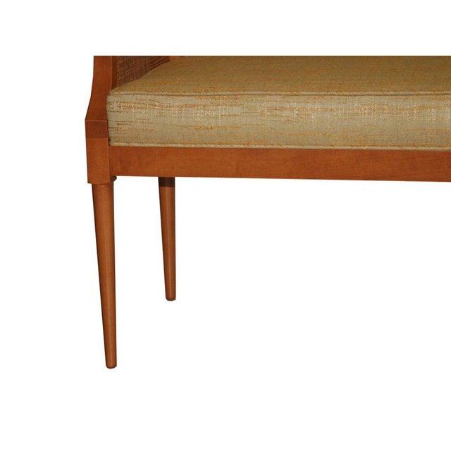 Customizable Viktor Caned Maple Bench - Image 3 of 9