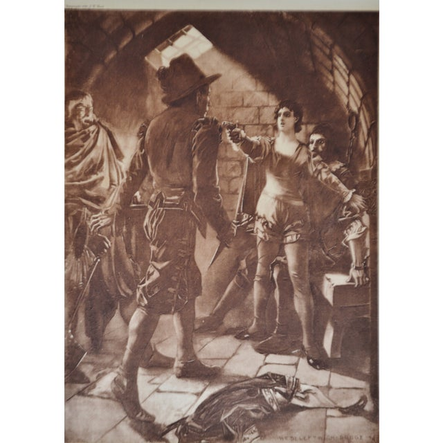 Traditional 1899 Photogravure of William de Leftwich Dodge's Fidelio Opera Painting For Sale - Image 3 of 8