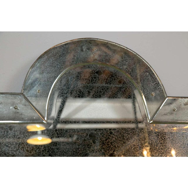 Venetian 'Key Hole' Shaped Mirrors - A Pair For Sale In New York - Image 6 of 7