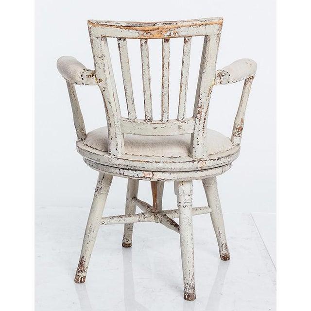 Swedish Swivel Chair - Image 4 of 5