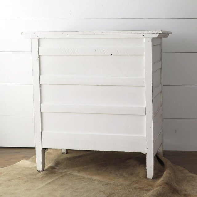 Antique White Painted Chest - Image 8 of 11