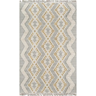 Novogratz by Momeni Indio Beverly in Grey Rug - 5'X7' For Sale