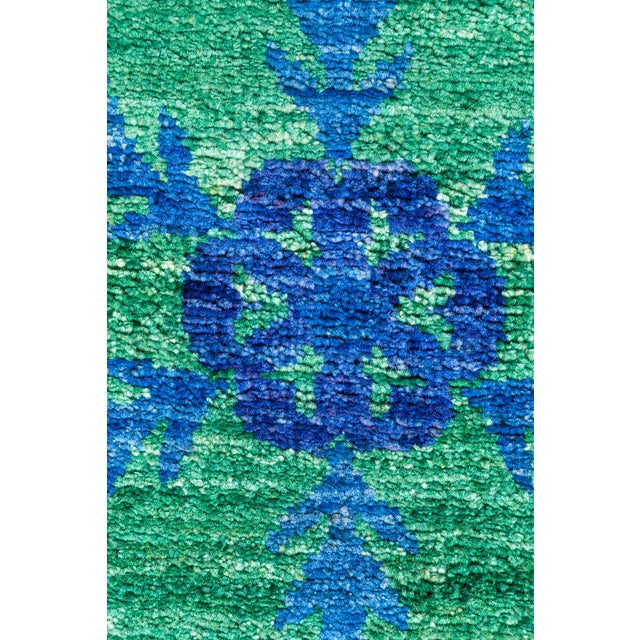 """Suzani Hand Knotted Area Rug - 5' 3"""" X 7' 8"""" - Image 3 of 4"""