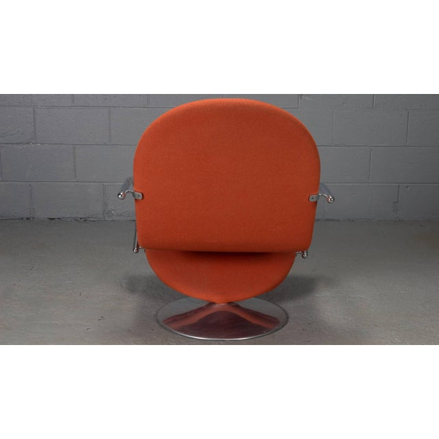1-2-3 Series Easy Chair Armchairs by Verner Panton for Fritz Hansen- A Pair For Sale In Boston - Image 6 of 11