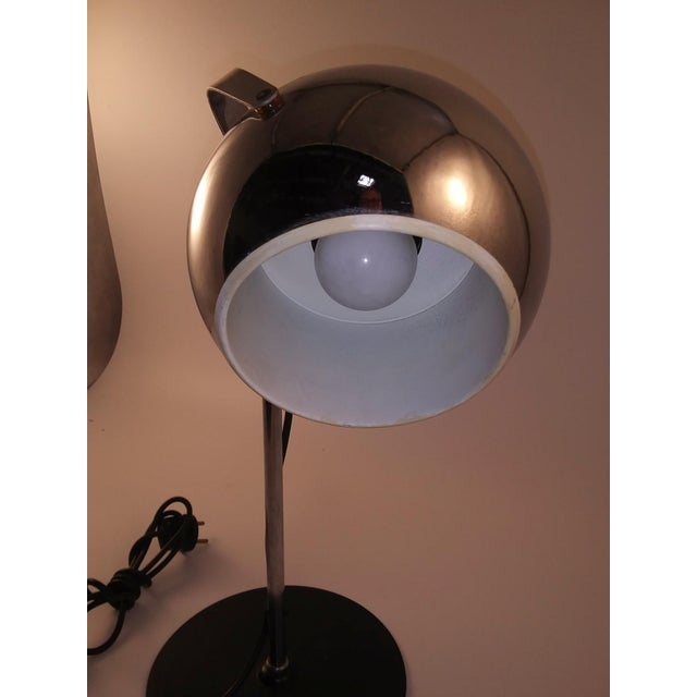Mid-Century Modern 1960s Mid-Century Modern European Desk Lamp For Sale - Image 3 of 9