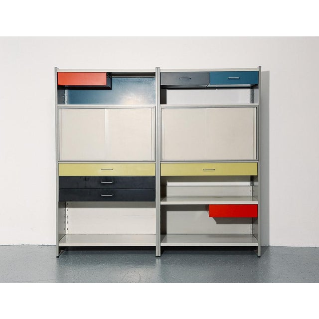Industrial Gispen 5600 Modular Storage System For Sale - Image 3 of 12
