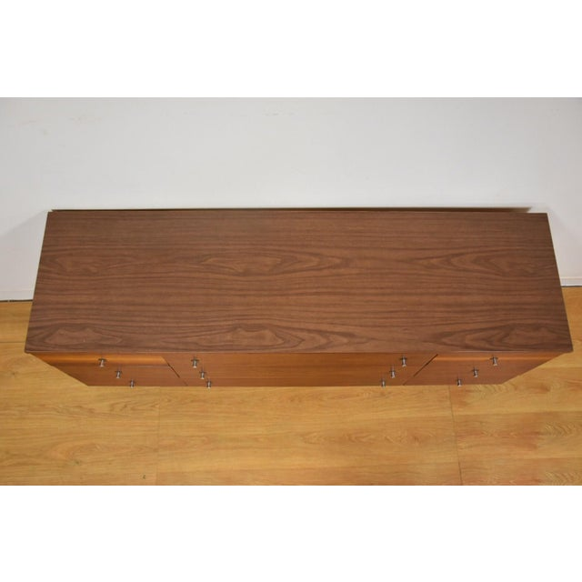 Stanley Walnut and Formica Dresser For Sale - Image 5 of 10